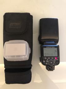 Flash Nikon Sb-900 Com Bolsa Protetora