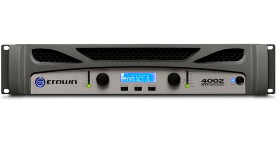 Amplificador Potência Crown Xti 4002 3200w Garantia 1 Ano
