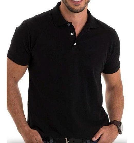 Camisa Polo Camiseta Masculino Lisas Piquet