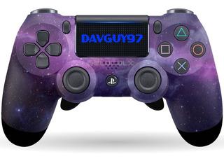 Control Ps4 Dualshok 4 Personalizado Galaxy Wwii Bo4 Scuf