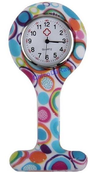 Relógio De Enfermeira Lapela Bolso Jaleco Medicina Doces