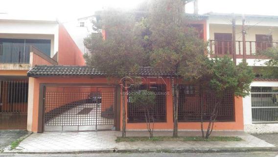 Sobrado Com 3 Dormitórios À Venda, 335 M² Por R$ 900.000 - Parque Jaçatuba - Santo André/sp - So1934