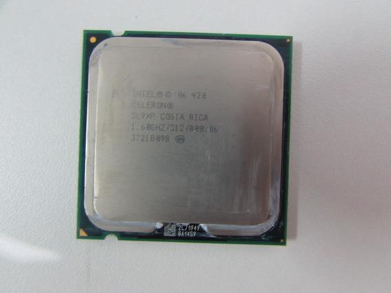 Processador Intel 775 Celeron 420 Sl9xp 1,60ghz/512/800