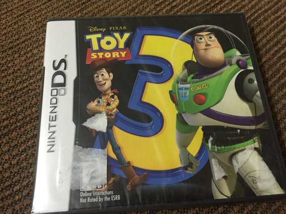 Toy Story 3 Nintendo Ds Disney Pixar Nuevo Woody