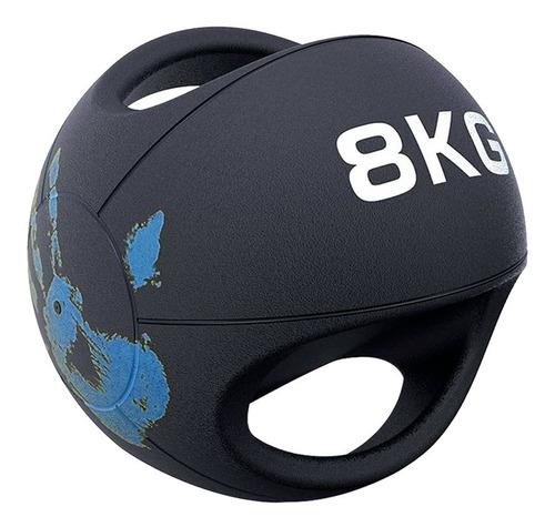 Balón Medicinal Doble Agarre 8 Kg
