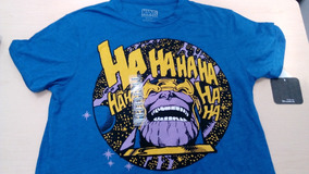 Playera Marvel Tanos