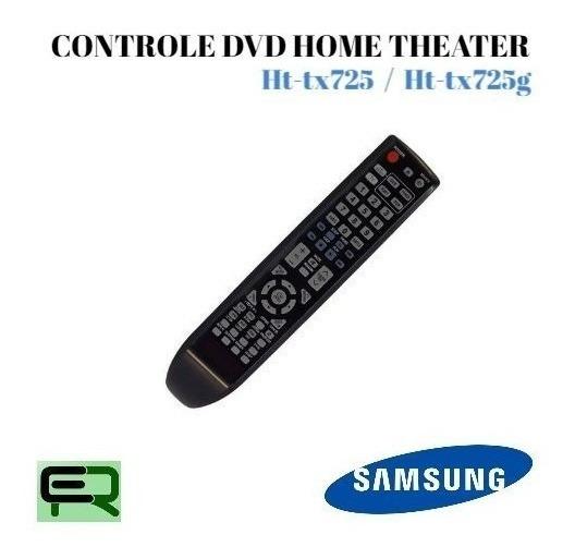 Controle Dvd Home Theater Samsung Ht-tx725 / Ht-tx725g...