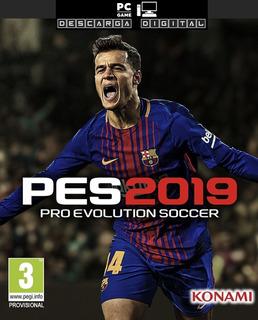 Pes 2019 Pro Evolution Soccer 2019 Juego Pc Digital