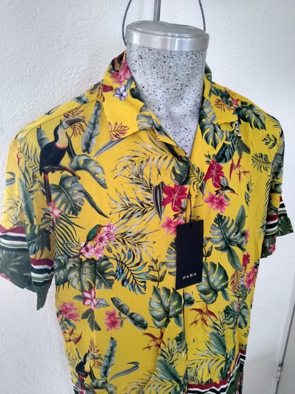Camisa Zara Para Caballero L 42