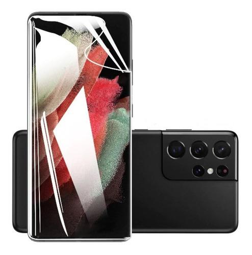 Mica Hidrogel + Lente Cámara Samsung Galaxy S21 Ultra