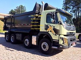 Volvo Fmx 500 Hp Com Caçamba Librelato Bi-truck Fh