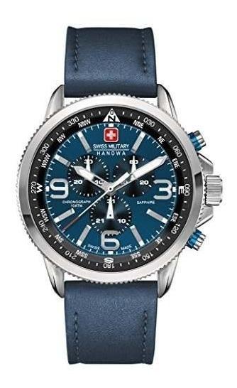 Militar Suizo 6-4224-04-003 Reloj Arrow Chrono Blue Para Hom