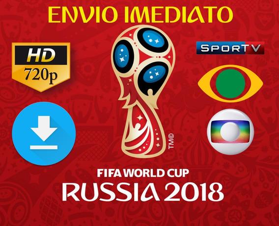 Copa Do Mundo 2018 Todos Os Jogos Completos