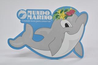 Mouse Pad Con Forma De Delfín Mundo Marino