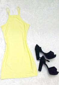 Vestido Vestidinho Justo Curto De Alcinha Moda Blogueiras