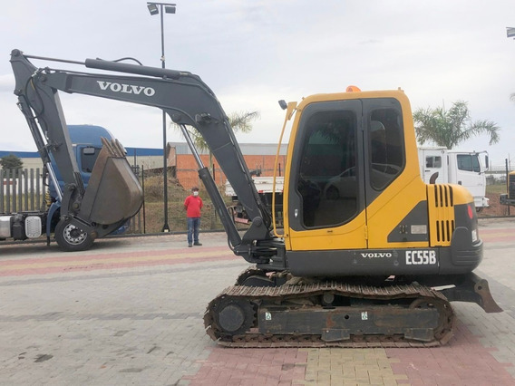 Mini-escavadeira Volvo Ec55b 2015=e55 B,bobcat,cx55b