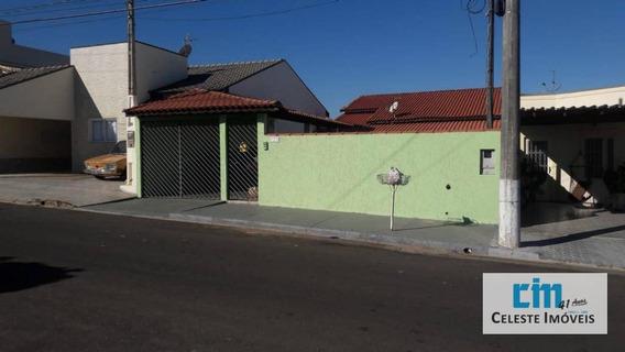 Casa Residencial À Venda, Jardim Sartorelli, Iperó. - Ca0397