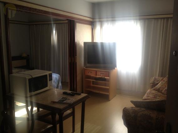 Flat Para Aluguel, 1 Dormitórios, Cidade Monções - São Paulo - 679