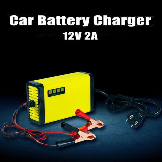 Carregador De Bateria Do Carro 12 V 2a Para Motocicleta Inte