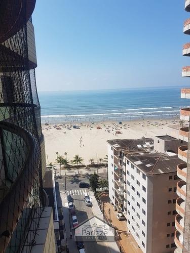 Apartamento Na Praia Da Aviação Na Praia Grande - 4316-1
