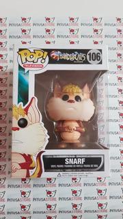 Funko Pop! Snarf #106 Thundercats Vaulted Envio Gratis!