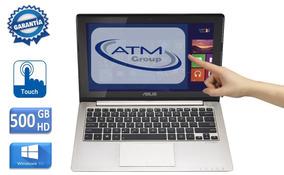 Notebook Asus X202e 2gb 500gb Hd Tela Touchscreen + Case