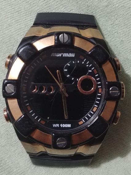 Relógio Mormaii Série Bronze Caixa Technos Y8382a
