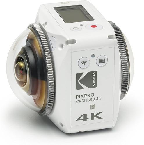 Kodak Pixpro Orbit360 4k Vr Camera - Satellite Pack Com Nfe