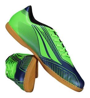 Chuteira Penalty Storm Speed Vii Futsal Verde