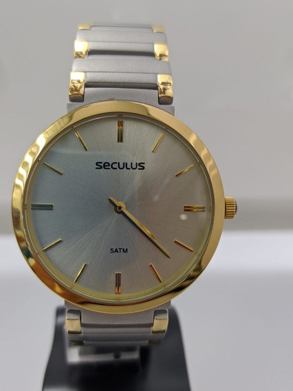 Relógio Seculus Masculino ( 24214gpsvba3)