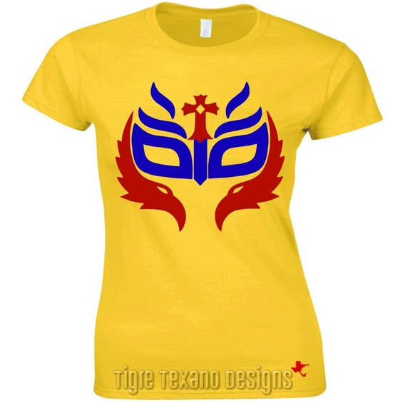 Playera Lucha Libre Rey Mysterio Jr. By Tigre Texano Designs