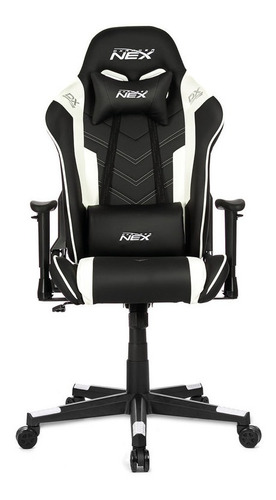Silla Gamer Pro Modelo Nex Color Negro /blanco Marca Dxracer
