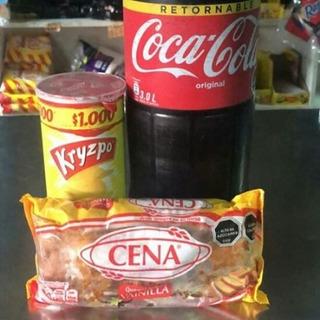 Promoción Lleva Tu Coca Cola, Queque Cena Más Una Papa Frita