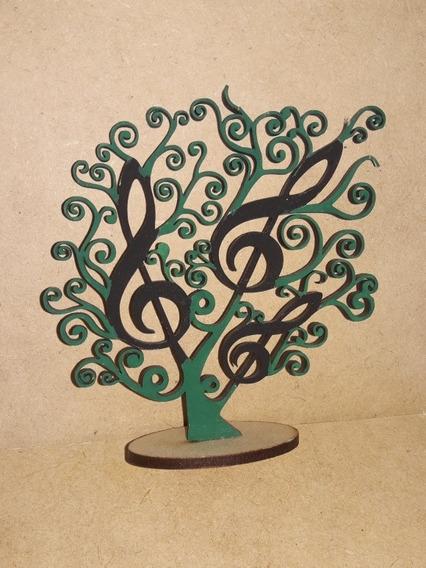 Arboles Decorativos En Fibrofacil Pintados X 50