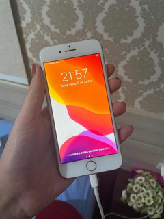 iPhone 8 64gb Branco Semi-novo