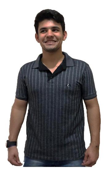 Camisa Polo Plus Size Extra Grande Malha Trabalhada Premium