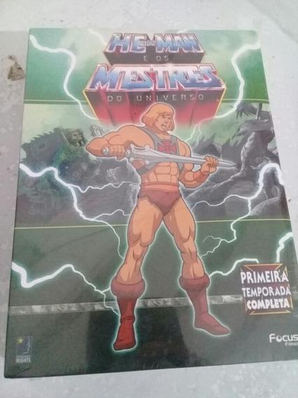Box He-man Original E Lacrado De Fabrica 12 Dvds Dublados