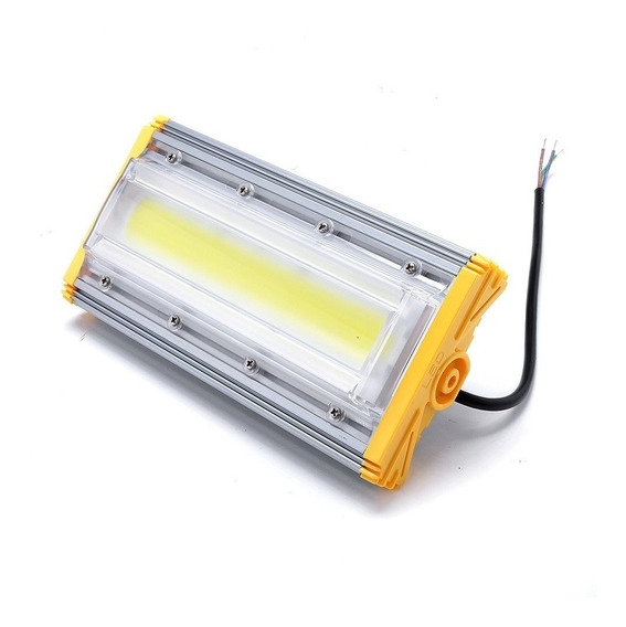 Refletor 50w Branco Frio Led Linear Project-light Lamp
