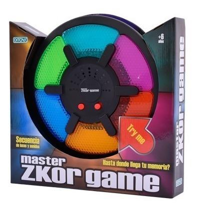 Zkor Game Master Clasico Juego De Memoria Original Ditoys