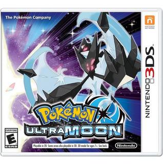 Pokemon Ultra Moon 3ds Nuevo Y Sellado