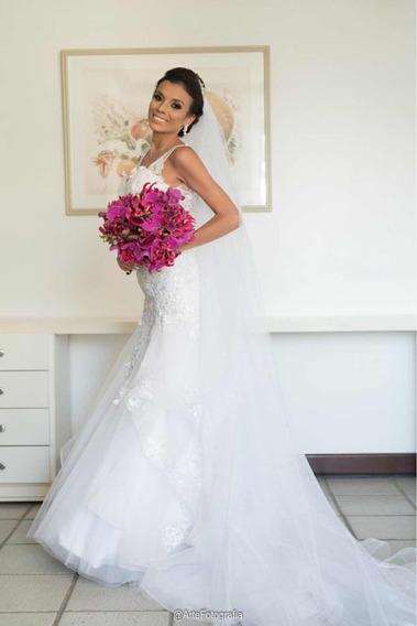Vestido De Noiva Semi Sereia