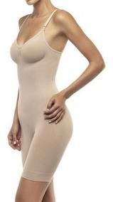 Macaquinho Modelador Lupo Loba Sem Costura Anti Celulite.