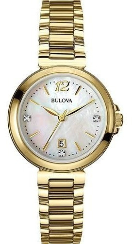 Relógio Bulova Feminino Madreperola Wb27930h