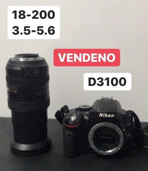 Nikon D3100 + Nikkor 18-200