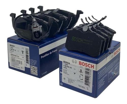 Kit Pastillas De Freno Bosch X 4 Ruedas P/ Vw Bora 2.0