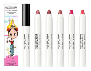 Kit De 5 Crayones De Labios Mate 2 En 1 De Artistry
