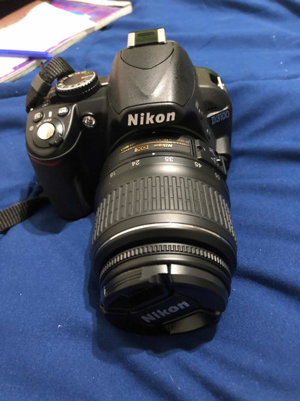 Cámara Nikon D3100 + Lente 55-200 + Accesorios