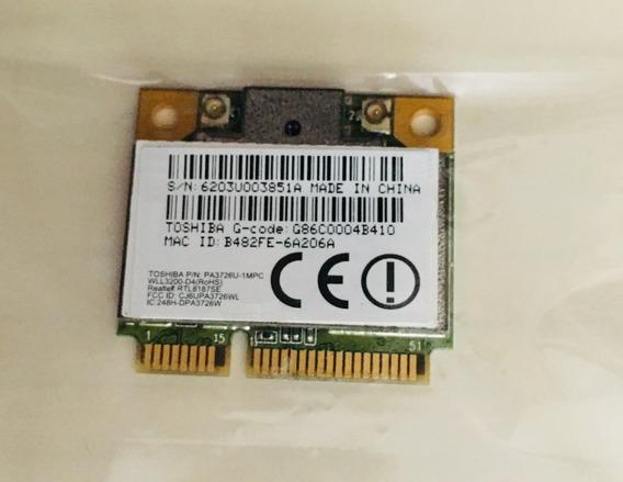 Placa Wifi Toshiba L505d L505 P/n Pa3726u-1mpc