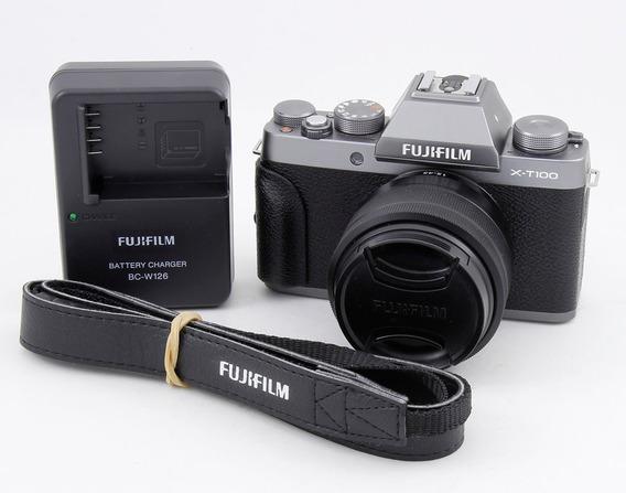 Camara Fujifilm X-t100