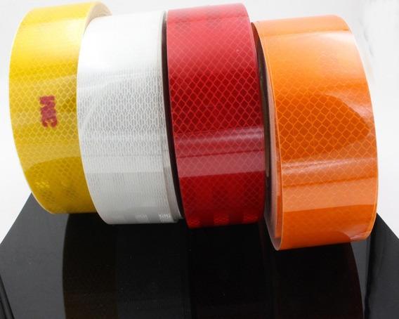 Fita Refletiva Adesiva Luminosa Decorativa Automotiva 5mx5cm